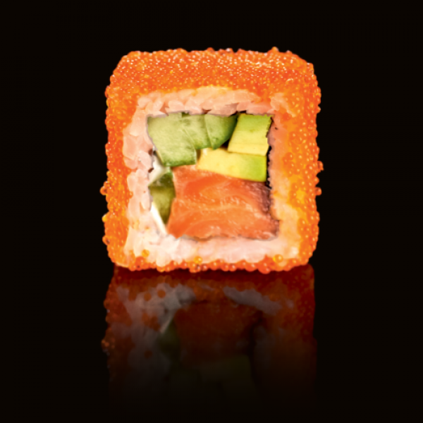 Classic California rolls with salmon (4 PCs)