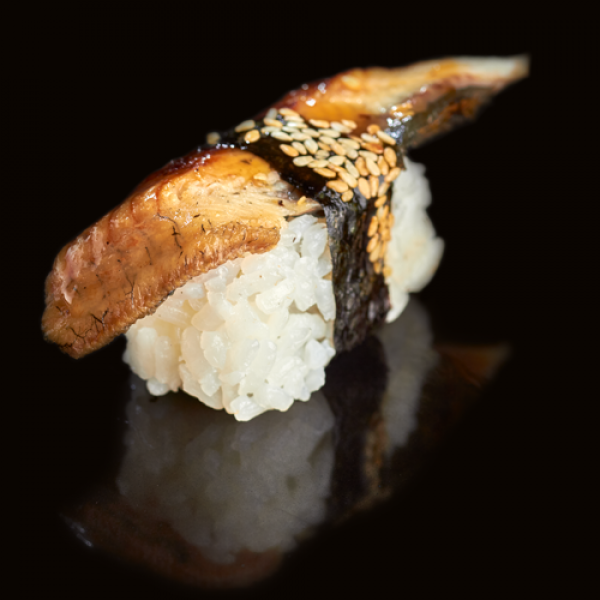 Classic sushi with eel (1 PCs)
