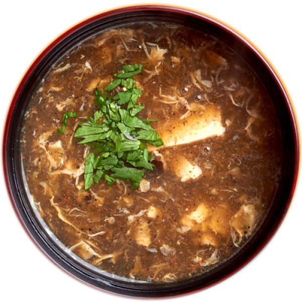 Chinese sour-spicy soup