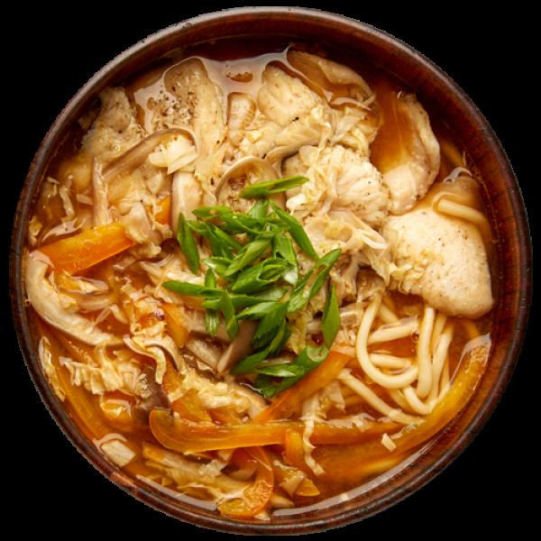 Tori zosui soup