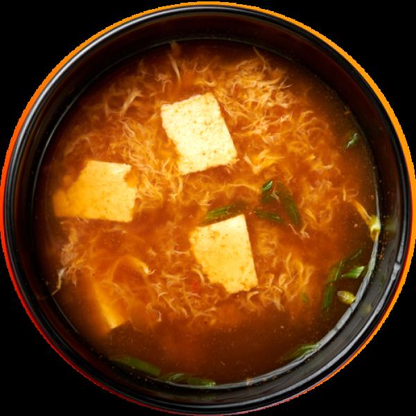 Kani zosui soup