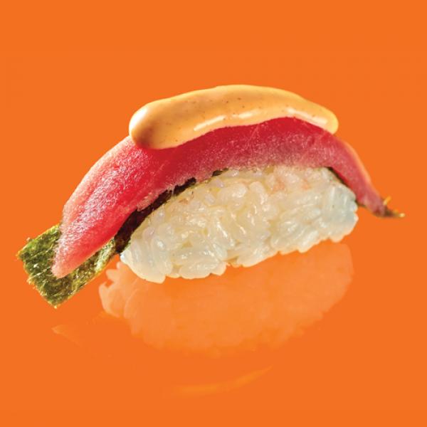 Cпайси суши тунец (1 шт)